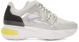 Fendi White Fancy Sneakers