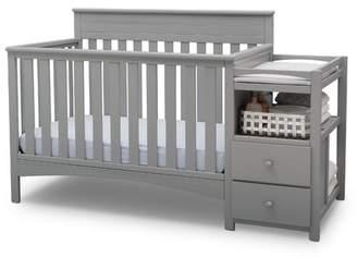 Delta Children Presley 3-in-1 Convertible Crib and Changer