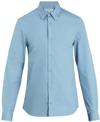 Jil Sander Pila point-collar cotton shirt