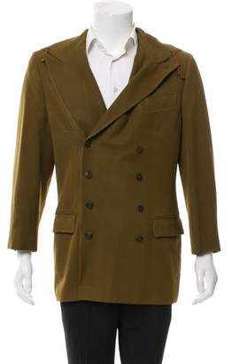 Jean Paul Gaultier Hooded Wool Blazer