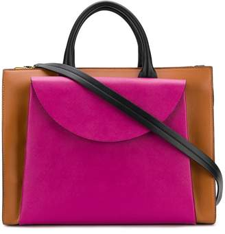 Marni two-tone tote bag