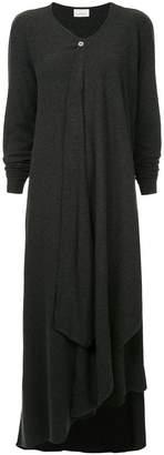 Lemaire wrap knit dress