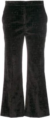 L'Autre Chose wide leg cropped pants