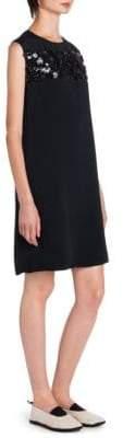Marni Sequin Stripe Shift Dress