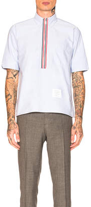 Thom Browne Zip Up Pull Over Shirt