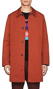 Paul Smith Men's Mac Tech-Twill Raincoat - Orange