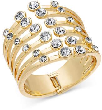 Thalia Sodi Gold-Tone Crystal Claw Cuff Bracelet