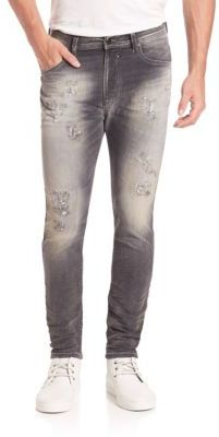 Diesel Diesel Spender Distressed Slim-Fit Jogger Jeans
