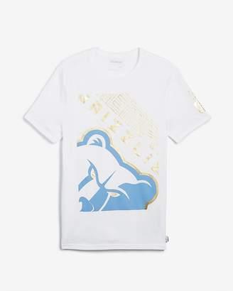 Express Memphis Grizzlies Nba Crew Neck Foil Graphic T-Shirt