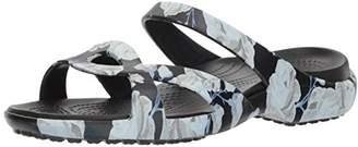 Crocs Women's Meleen Twist Graphic Sandal Flat