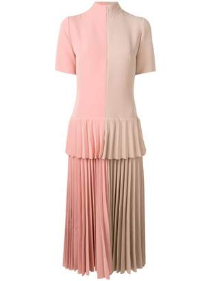 Couture Atu Body colour-block pleated dress