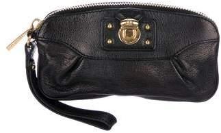 Marc Jacobs Leather Zip Wristlet