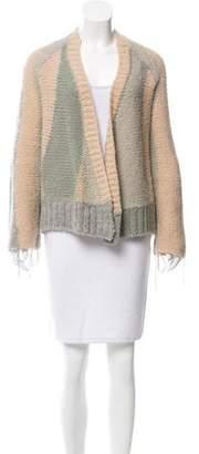 Zadig & Voltaire Wool-Blend Open Front Cardigan