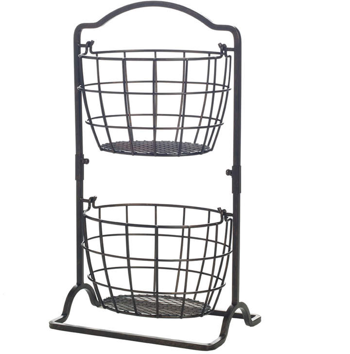 Gourmet Basics 2 Tier Harbor Hanging Basket