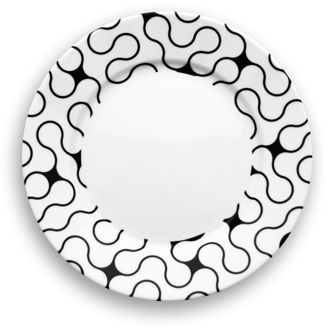 notNeutral - Links Dinner Plate Set