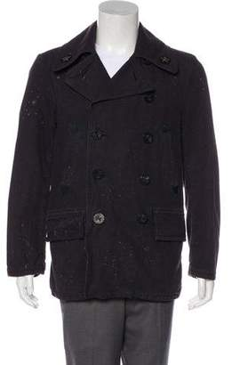 Co RRL & Woven Double Breasted Jacket