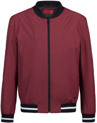 HUGO BOSS HUGO Men's Slim-Fit Bomber Jacket