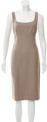 Ralph Lauren Wool Sheath Dress