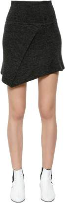 Etoile Isabel Marant Blithe Stretch Wool Knit Skirt