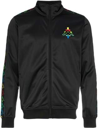 Marcelo Burlon County of Milan zip kappa jacket multi black