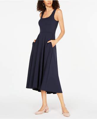 Alfani Petite Fit & Flare Midi Dress
