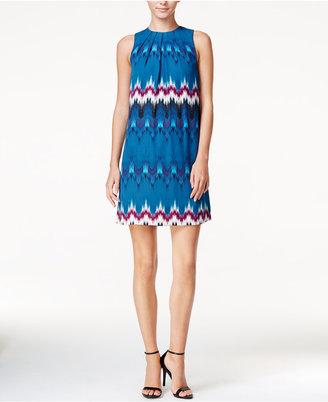 kensie Tribeca Printed Shift Dress $89 thestylecure.com