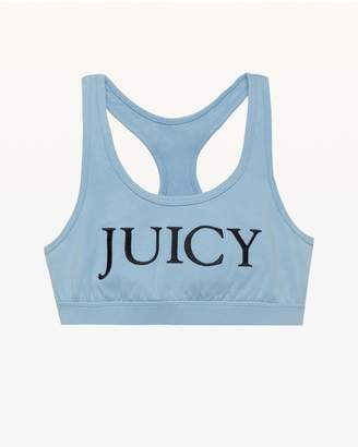 Juicy Couture Embroidered Juicy Sports Bra