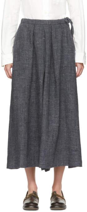Grey Hakama Trousers