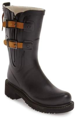 Ilse Jacobsen Waterproof Buckle Detail Snow/Rain Boot