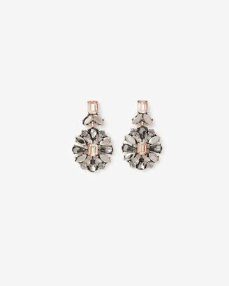 Express Stone Burst Drop Earrings