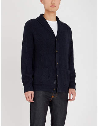 Polo Ralph Lauren Shawl collar cotton knitted cardigan