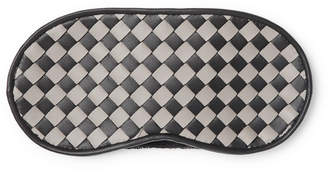Bottega Veneta Two-Tone Intrecciato Leather Eye Mask
