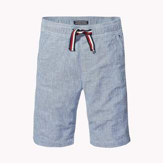 Tommy Hilfiger TH Kids Cotton Linen Easy Short