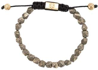 Nialaya Jewelry pyrite beaded bracelet
