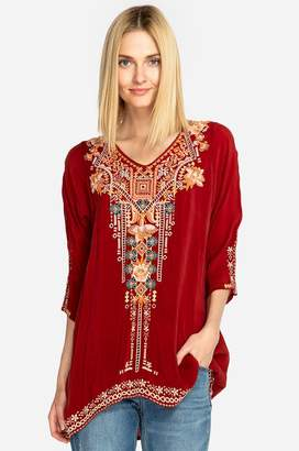 Johnny Was Mikaela Eyelet Tunic