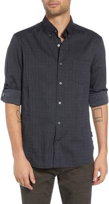 John Varvatos Regular Fit Roll Sleeve Sport Shirt