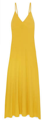 Norma Kamali Stretch-jersey Maxi Dress - Yellow
