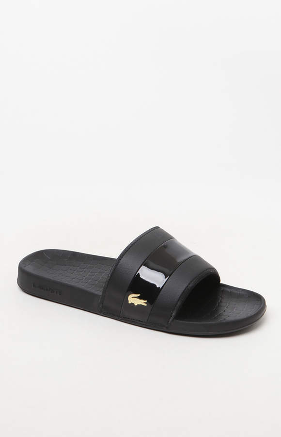 Lacoste Frasier 318 Black Slide Sandals
