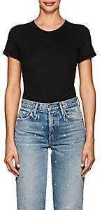 RE/DONE Women's Cotton Jersey Bodysuit - Black