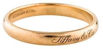 Tiffany & Co. & Co. 18K Notes Band
