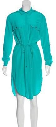 Haute Hippie Silk Casual Knee-Length Dress