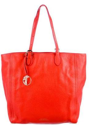 Versace Grained Leather Tote