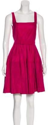 Lanvin A-Line Mini Dress