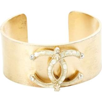 Chanel Gold Metal Bracelet