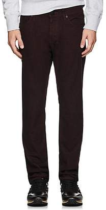 J Brand MEN'S KANE BRUSHED STRAIGHT JEANS - WINE SIZE 30