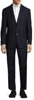 Lauren Ralph Lauren Regular Fit Tonal Stripe Wool Suit