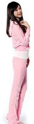SDZYY Women'S Velour Hoodie+Pant Tracksuit Sport Sweat Suit Set Multicolor -L