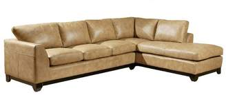 Omnia Leather City Sleek Sectional