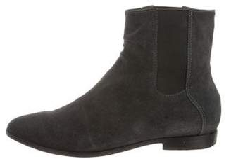 Rachel Comey Pointed-Toe Suede Ankle Boots