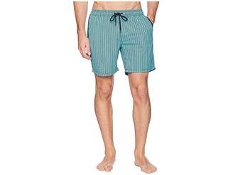 Mr.Swim Mr. Swim Diamonds Elastic Printed Swim Trunk